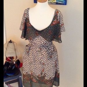 Hot & Delicious Paisley Free Flowing Dress