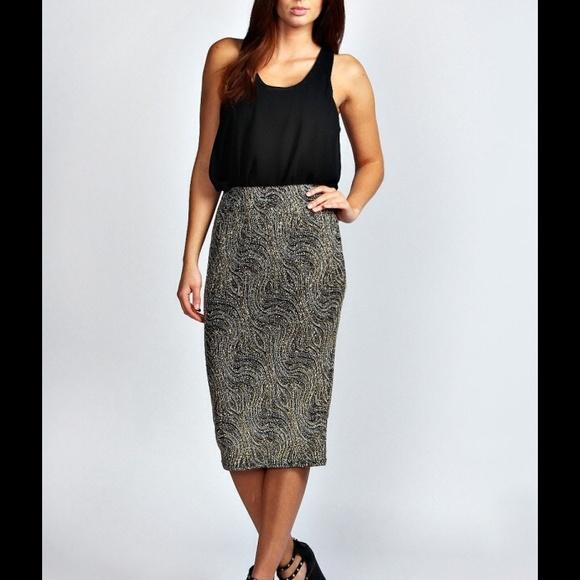 57 boohoo dresses skirts boohoo pencil skirt from
