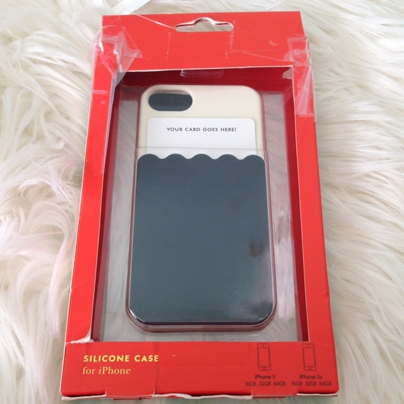 purchase cheap e6c19 e458f Kate Spade Iphone 5 Case Card Holder New NWT