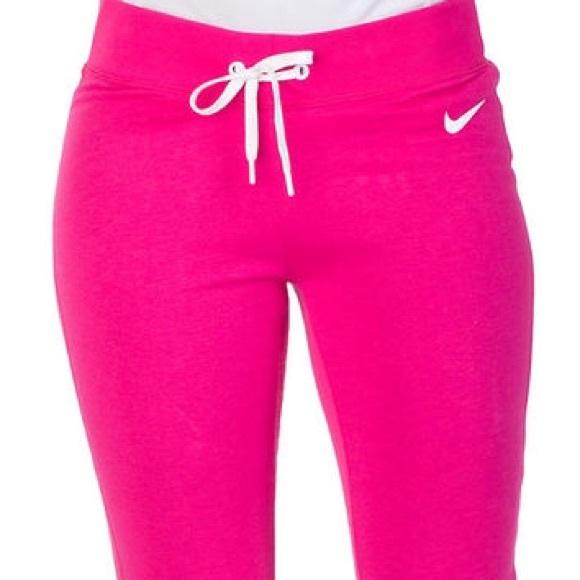 99f622882 Nike Pants | Club Swoosh Fleece Tight Womens | Poshmark