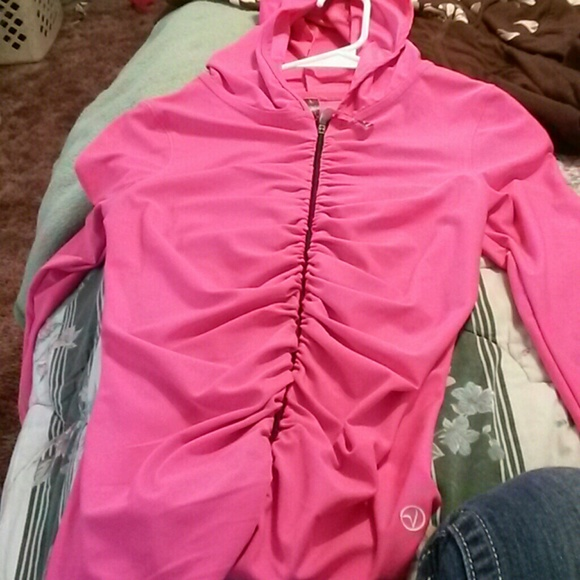 33% off vogo Jackets & Blazers - Hot pink yoga jacket from ...