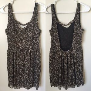 Brandy Melville floral dress one size fits all