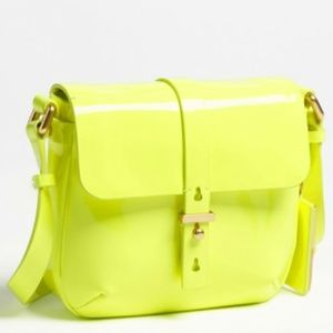 Marc By Marc Jacobs- Neon  Patent Crossbody Bag