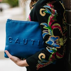 Zara Clutches & Wallets - Zara Feeling Lucky Clutch