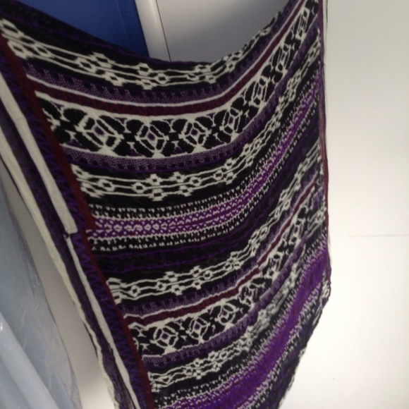 russe tribal print infinity scarf from