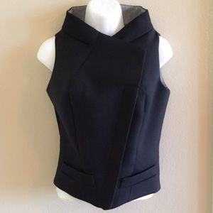 Balenciaga Black Wool Fitted Vest F38