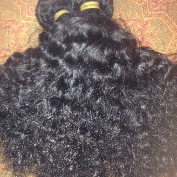 68 Off Accessories 100 Raw Virgin Indian Curly Weft