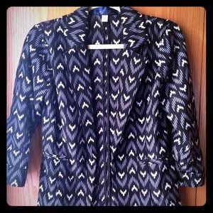 Jackets & Blazers - Pattern blazer