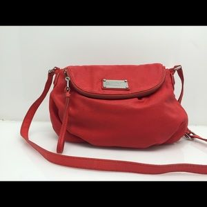 Marc by Marc Jacobs Natasha Red Lizard Leather