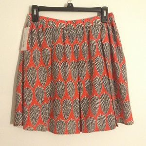 Maison Jules Pleated Skirt
