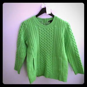 J.Crew Green Sweater / size S