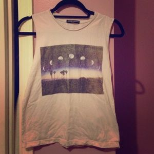 Brandy Melville moon top