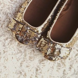 Kate Spate sequin  ballet flat