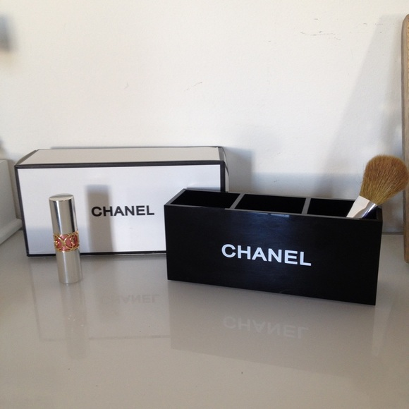 Chanel Accessories Cosmetic Box Bag Organizer Make Up