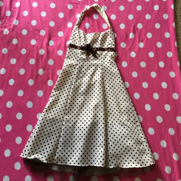 Find Brown polka dot dresses at ShopStyle. Shop the latest collection of Brown polka dot dresses from the most popular stores - all in one place.