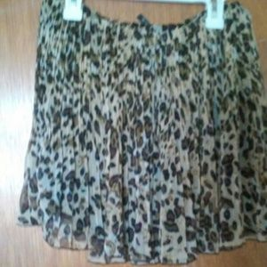 zinga  Dresses & Skirts - Leopard Mini skirt