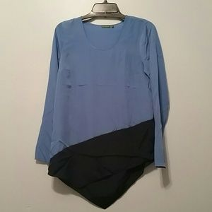 NWOT color block top