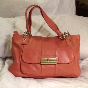 COACH KRISTIN SATCHEL LEATHER