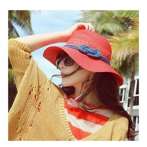 Host Pick Red Beach Hat
