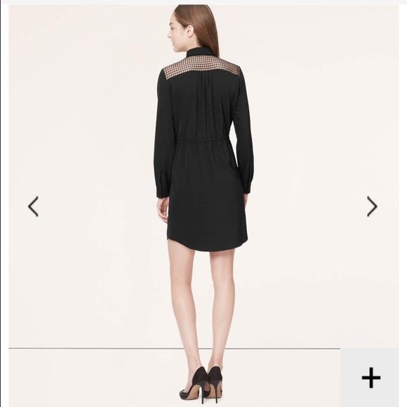 NWT Ann Taylor LOFT Little Black Dress 8   $89.50 Black
