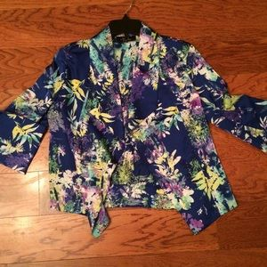 Jackets & Blazers - Multi- colored Floral Jacket