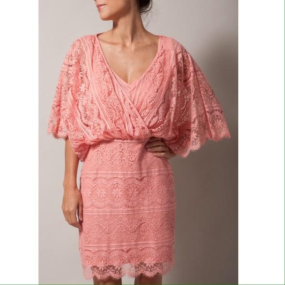80% off Beyond Vintage Dresses & Skirts - BEYOND VINTAGE pink lace ...