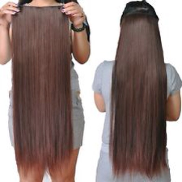 Bellami Accessories 28 Clip In Hair Extensions Expresso Brown