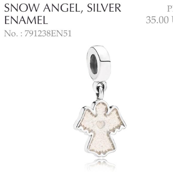 a7b4c51ef Snow angel pandora charm and the boy. M_55039919ea99a60cf9002cc7
