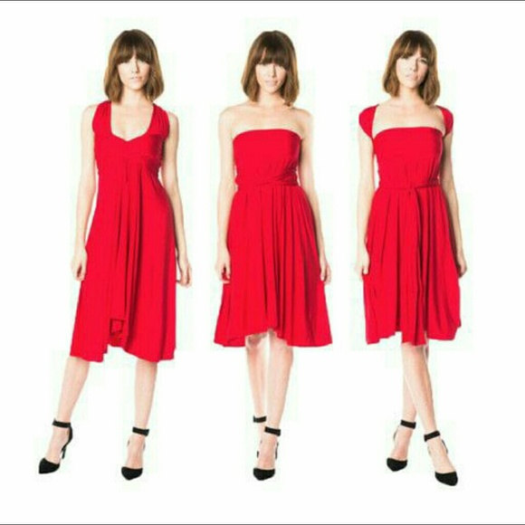 Hayley Starr Dresses & Skirts - The Infinite Dress by Hayley Starr in red (New)