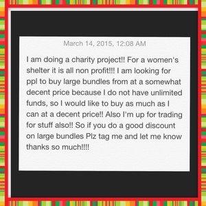 Discounts on large bundles!!