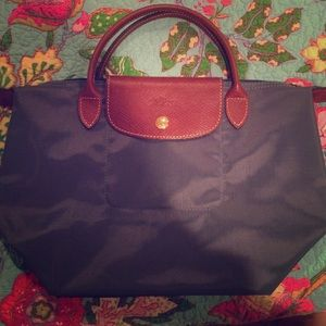 Small, Blue Longchamp Bag