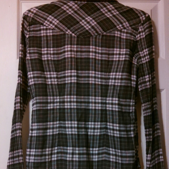 72 Off American Eagle Outfitters Tops Ae Button Up From