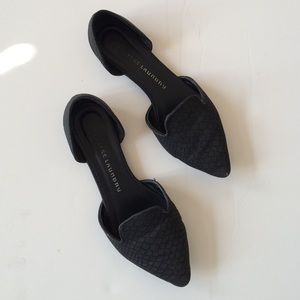 ⭐️SALE⭐️ Chinese Laundry Black D'Orsay Flats