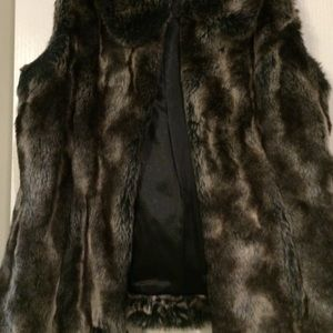 Rachel Zoe Luxe Faux Fur Chinchilla vest