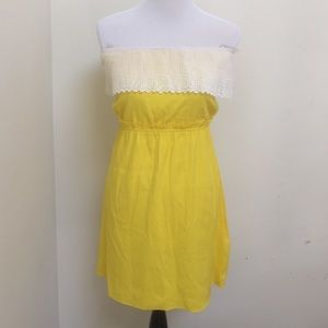AKA New York Dresses & Skirts - Yellow AKA dress size large exclusive for shopbop
