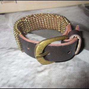 Jewelry - Brown Buckle Bracelet