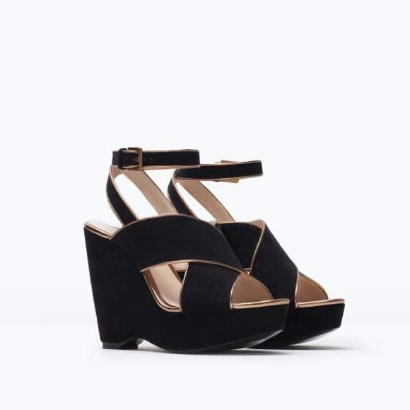 11 zara shoes zara wedge shoes from thuy s