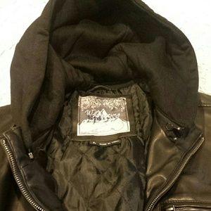 Whispering smith leather jacket