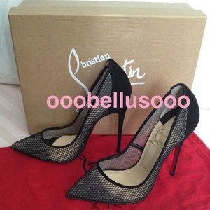 💯Authentic Christian Louboutin 120mm Size 36