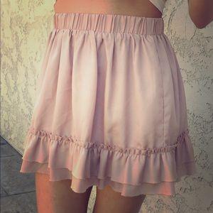 Forever 21 Dresses & Skirts - Dark peach/tan skirt Kawaii Pastel Lolita