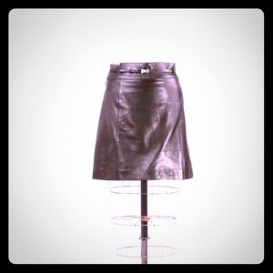 GUCCI Couture Brand New Lambskin Skirt Size 40