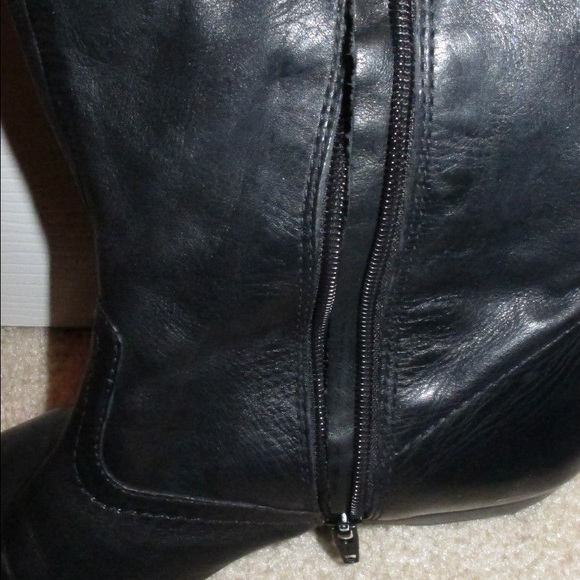 60 boots soft leather knee high boots from