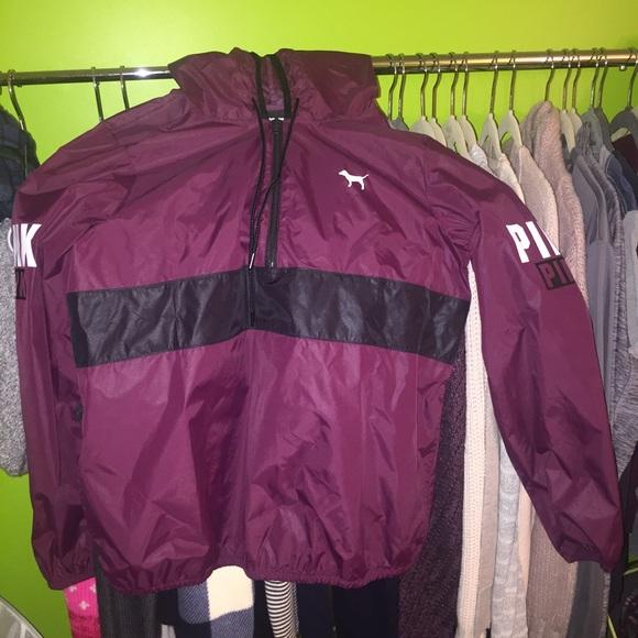 PINK Victoria's Secret - Victoria Secret Rain jacket 1/4 zip from ...
