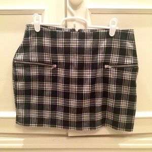 Plaid Urban Outfitters Mini Skirt