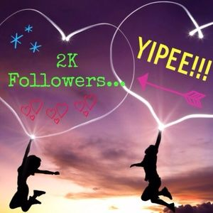 Update: Reached 2K Followers!!