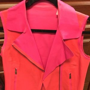 Beautiful helmut Lang leather vest new!!