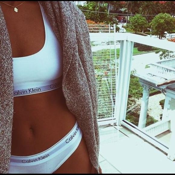 66dd4e6ddf50 Calvin Klein Intimates & Sleepwear | Sports Bra And Underwear | Poshmark
