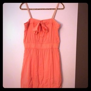 J. Crew - Coral Dress with Bow