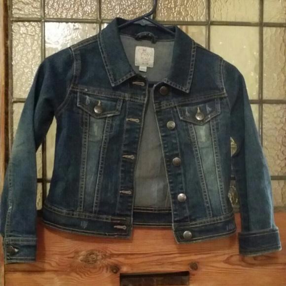 82% off children's place Jackets & Blazers - Girls Denim Jacket ...