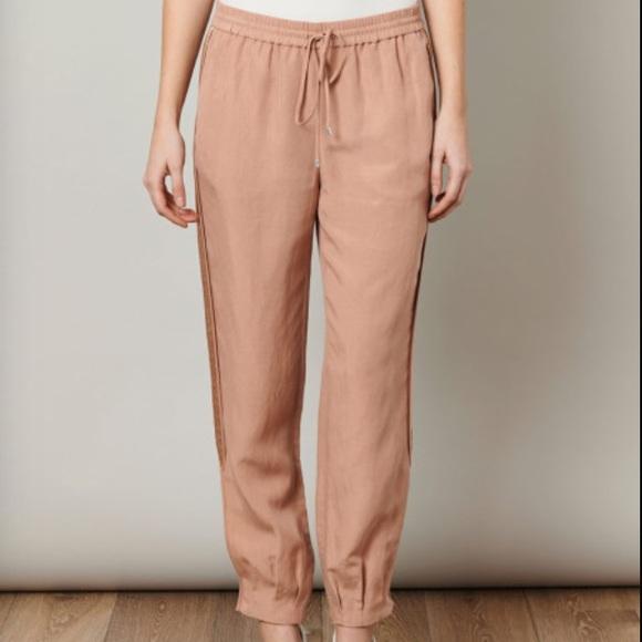 89% off Diane von Furstenberg Pants - SOLD DVF peach drawstring ...